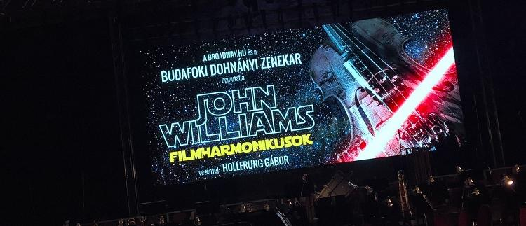 Esti program: John Williams -  Filmharmónikusok